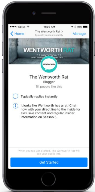 chatbot - Wentworth Rat