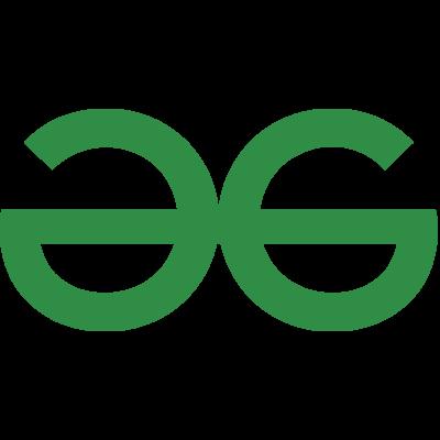 Geeks for geeks - logo