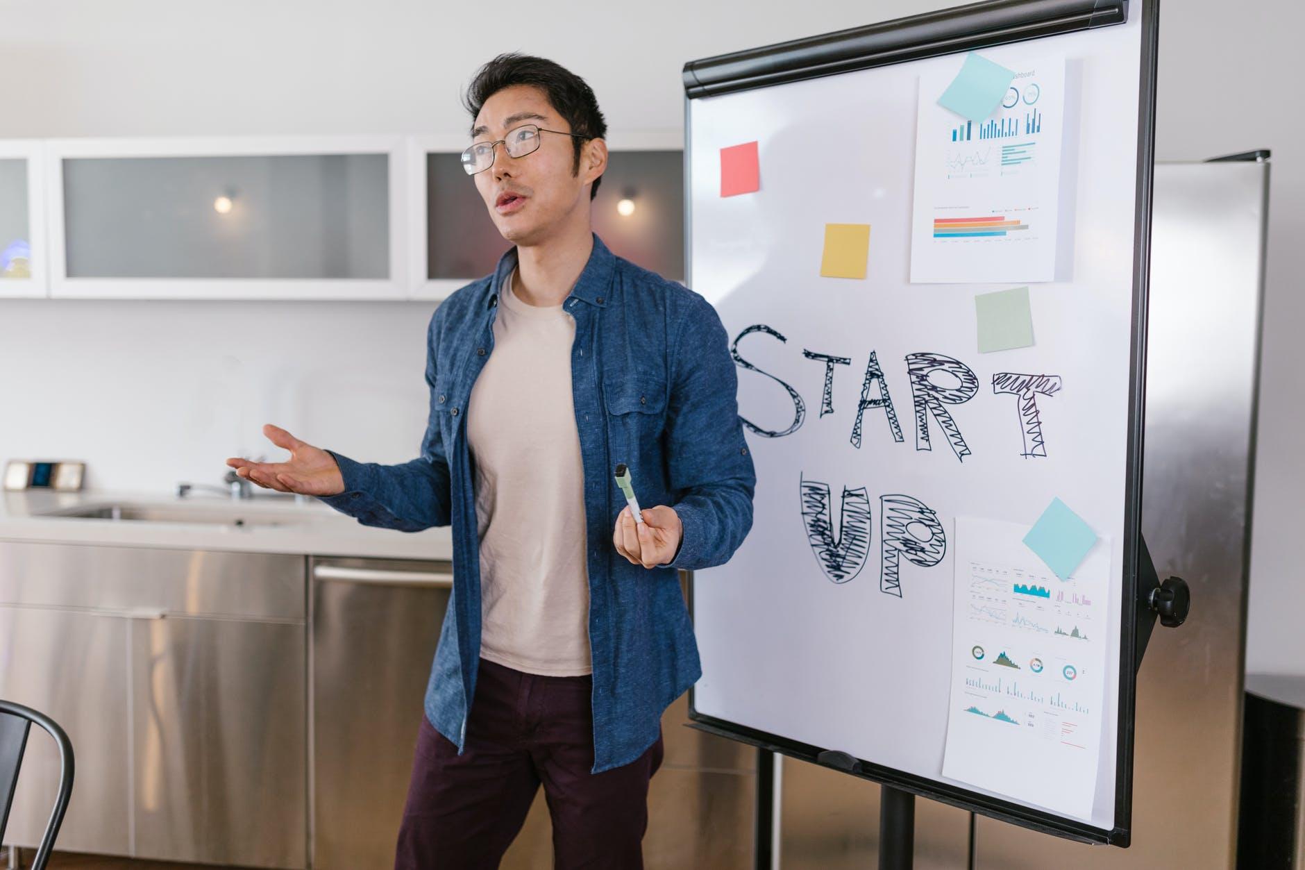 założyciel startupu